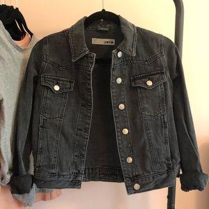 Topshop Cropped Jean Jacket